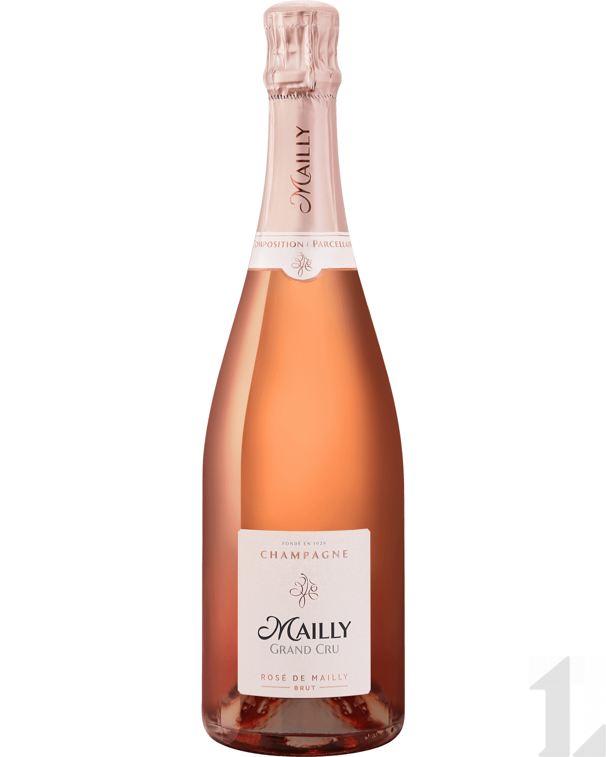 Игристое вино Mailly Grand Cru Rose de Mailly Brut Champagne AOC 0.75л
